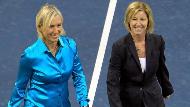 ATP/WTA - La rivalité Navratilova-Evert élue meilleure de l'Histoire