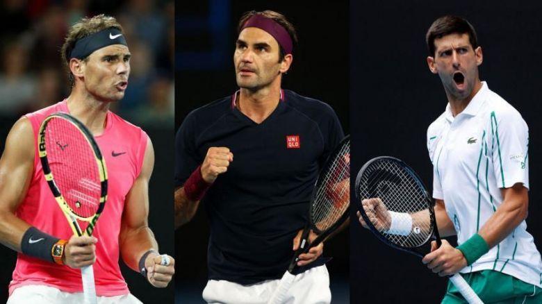 Wimbledon  - Federer et Nadal félicitent Djokovic après sa victoire