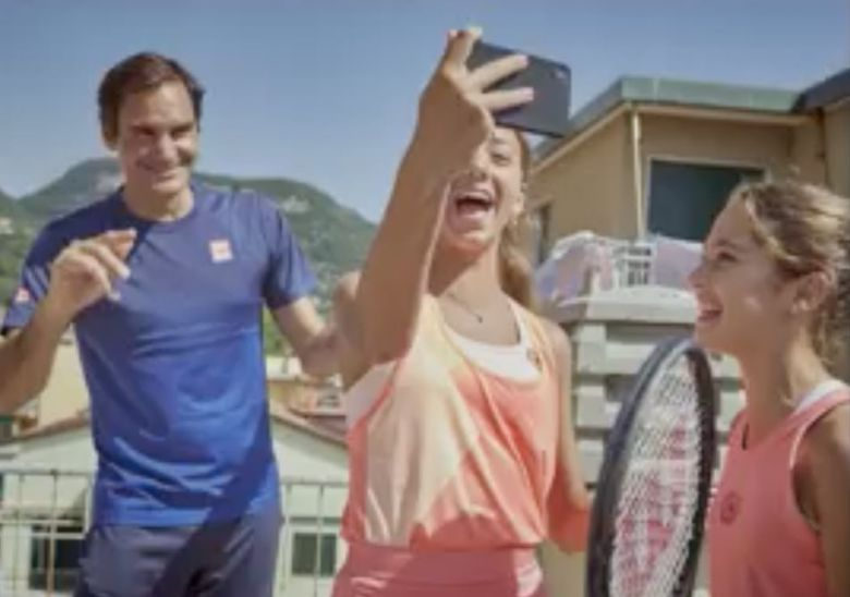 ATP - Quand Roger Federer surprend les rooftop players italiennes !