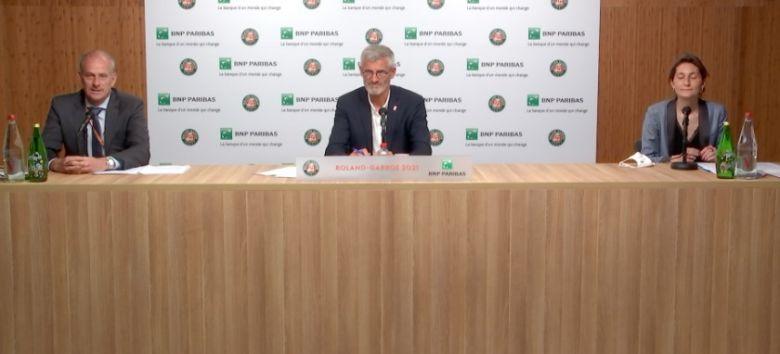 Roland-Garros - Le bilan de Gilles Moretton : 'Satisfaits et frustrés'