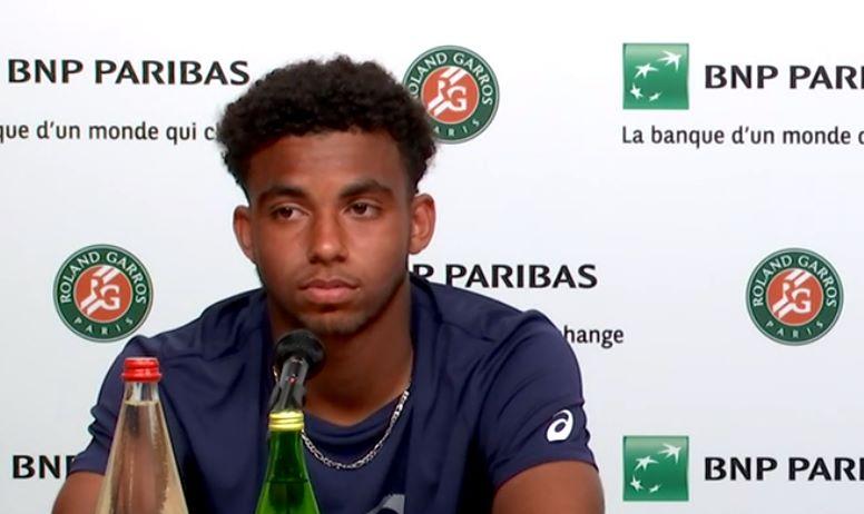 Roland-Garros (J) - Arthur Fils : 'Les 4 en demies, c'est incroyable'
