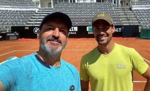 ATP  - La collaboration Fabio Fognini et Alberto Mancini est terminée