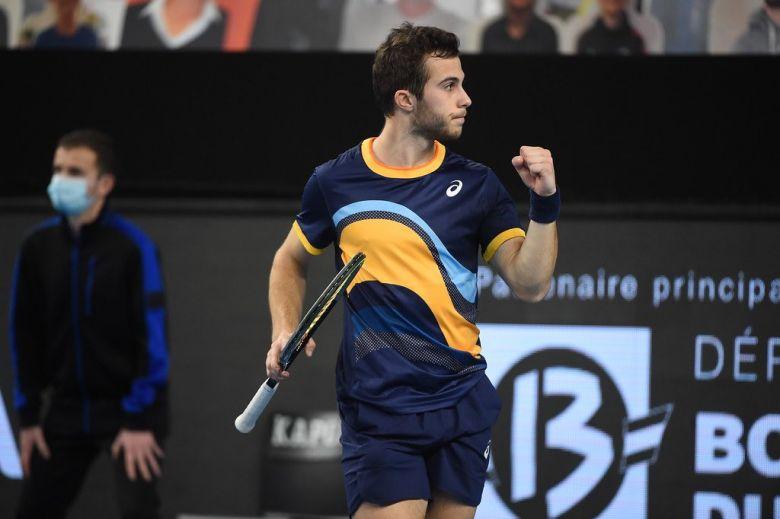 ATP - Marseille - Hugo Gaston à la fête, Grégoire Barrère rate Sinner