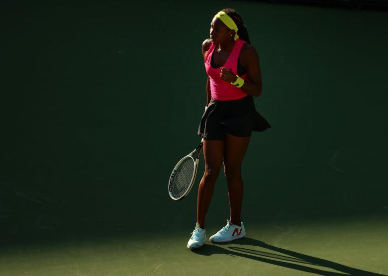 WTA - Indian Wells - Gauff admirative de Federer : 'C'est le meilleur'