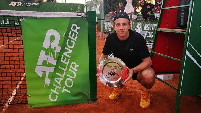 Naples II (CH) - Sixième Challenger en 2021 pour Griekspoor, 89e à l'ATP