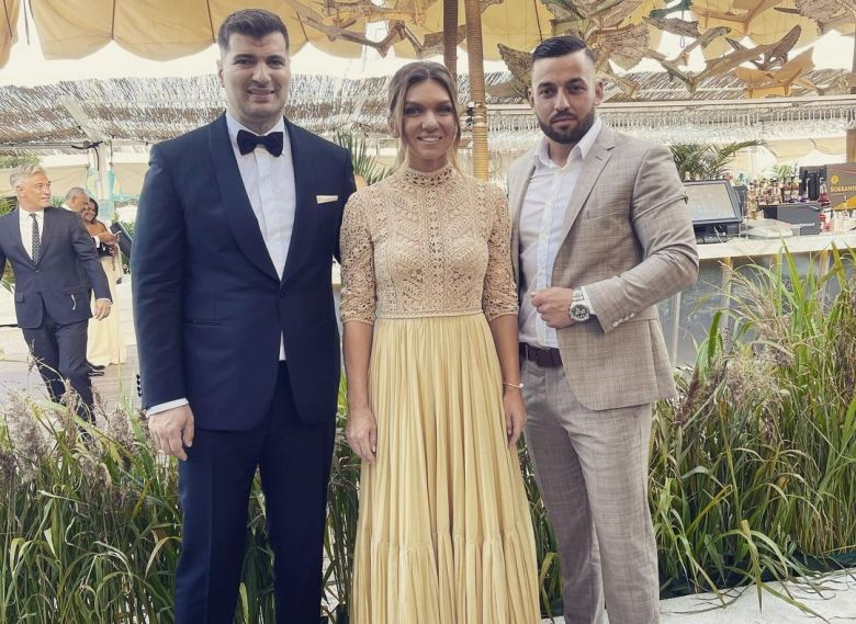 Carnet Blanc - Simona Halep a dit 'oui' mercredi à Toni Iuruc