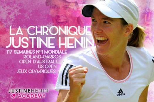 US Open - Justine Henin : 'Wawrinka, son jeu me passionne'