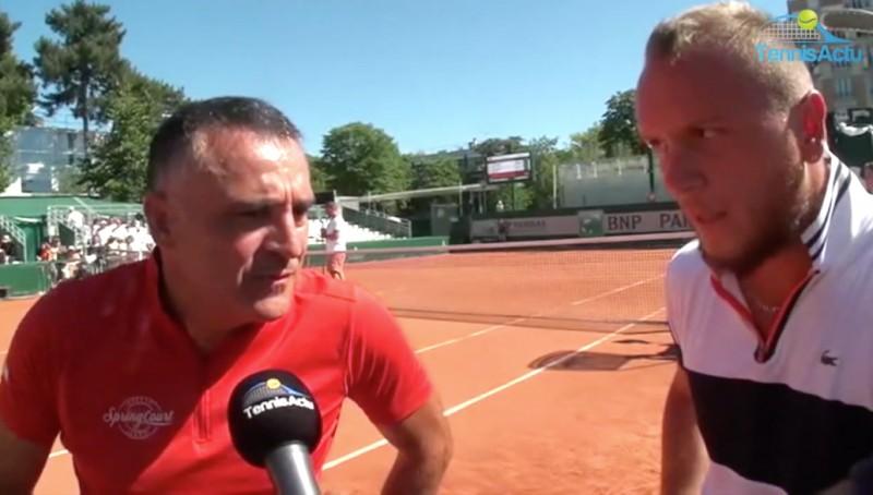 ITW - Stéphane Houdet a un souhait : 'Un jour, jouer tous ensemble'
