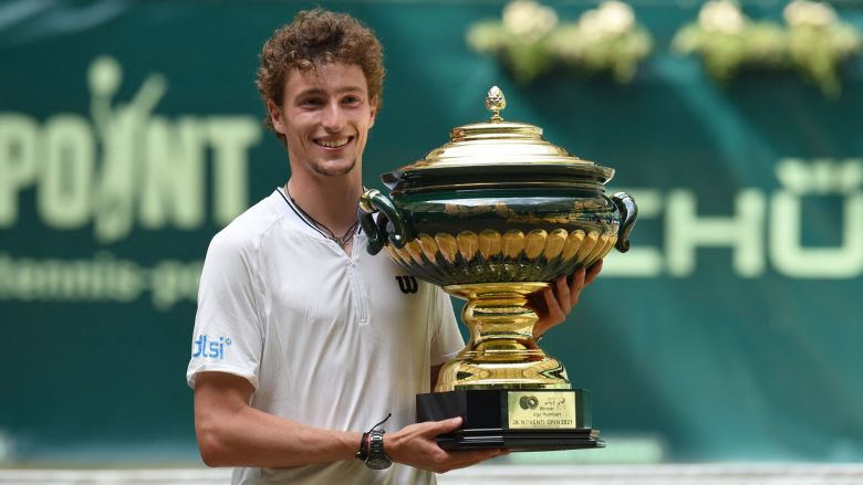 ATP - Halle - Grâce à sa grosse coupe, Ugo Humbert est 25e mondial