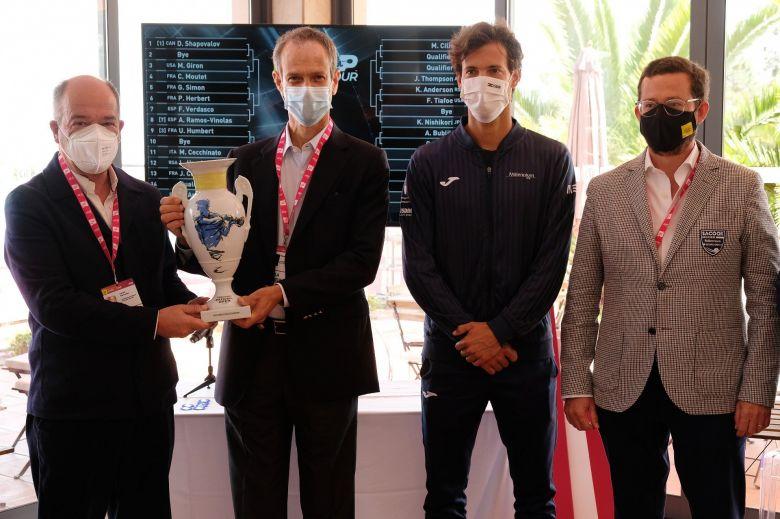 ATP - Estoril - Chardy a hérité de Munar, Simon-Herbert d'entrée