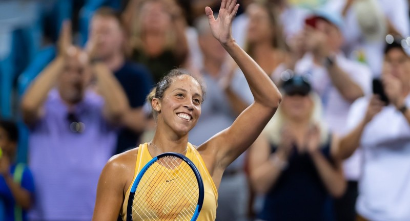 WTA - Cincinnati - Madison Keys face à Kuznetsova en finale