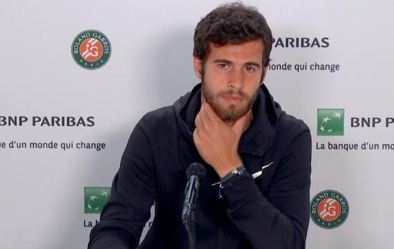 ATP - Khachanov : 'Il ne sera pas possible de jouer sans spectateur'
