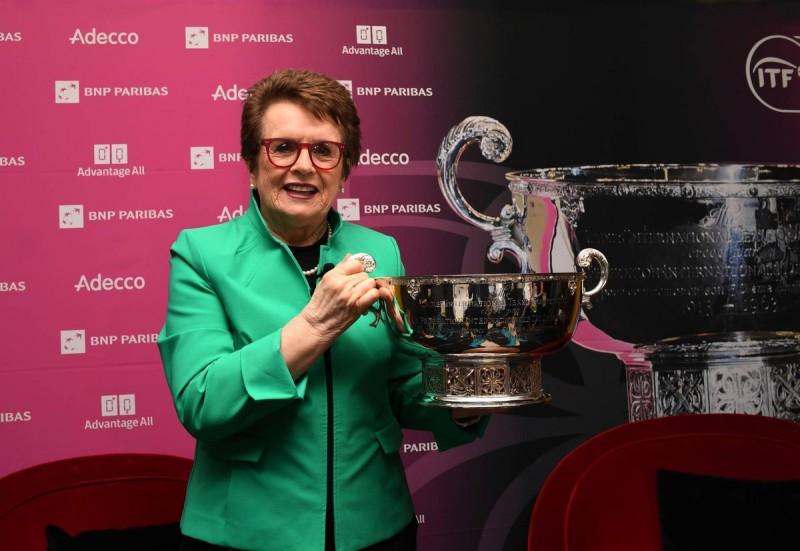 WTA - La Fed Cup change de nom et devient la Billie Jean King Cup