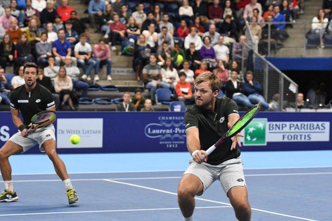 ATP - Anvers - Krawietz/Mies titrés, Herbert/Mahut tranquilles