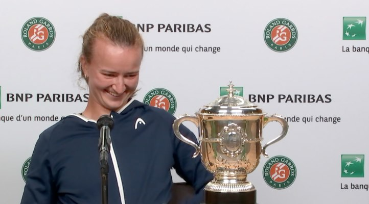 Roland-Garros - Barbora Krejcikova : 'Un rêve devenu réalité...'