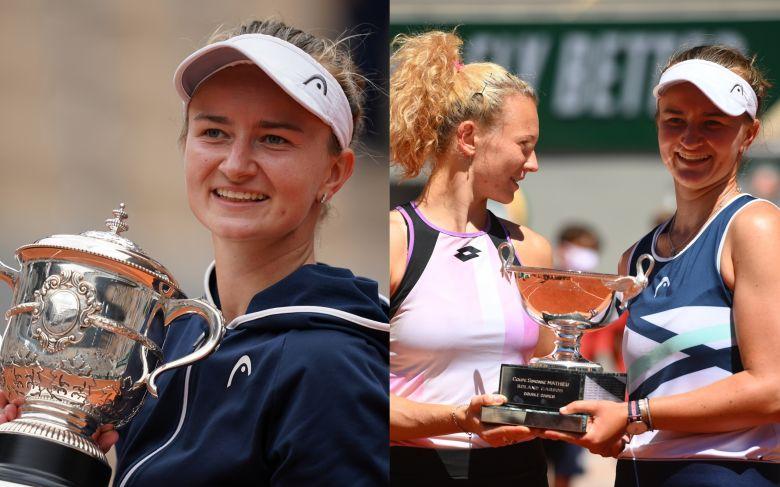 Roland-Garros - Comme Mary Pierce en 2000, Krejcikova fait le doublé !