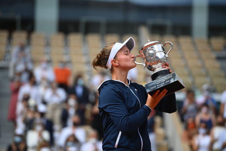 Roland-Garros - Barbora Krejcikova s'est offert son 1er Roland-Garros