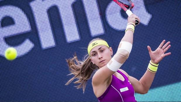 WTA - s'Hertogenbosch - Ça pique pour Aleksandra Krunic