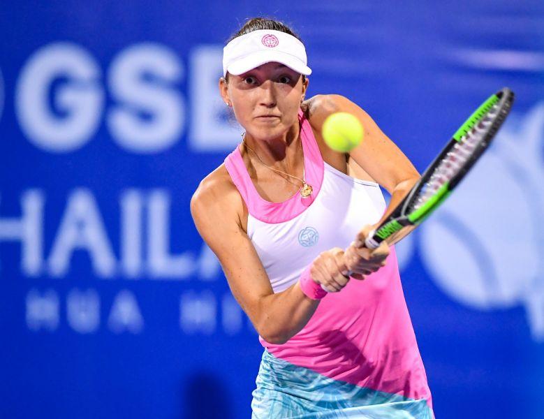 WTA - Battue à Palerme, Leonie Küng a rejoué dès dimanche...en Suisse