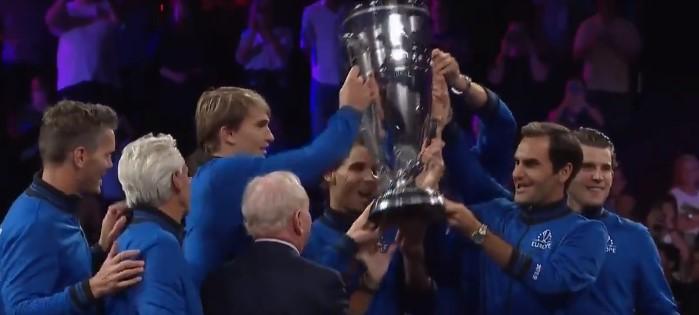 Laver Cup - Le titre à la Team Europe de Federer et Nadal