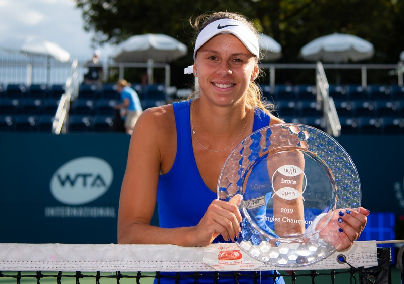 WTA - Bronx - Magda Linette tient son plus beau titre !