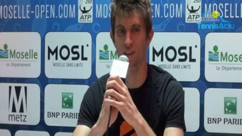 ATP - Metz - Yannick Maden : le 'chanceux' en demies à Metz ?