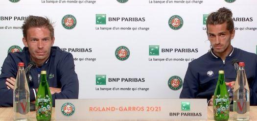 Roland-Garros  - Mahut/Herbert : 'La Coupe, il faut aller la chercher'