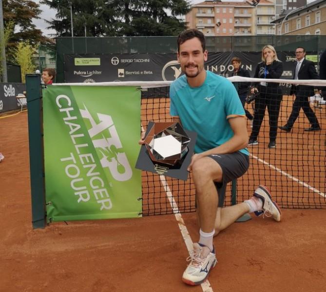 Biella (CH) - Gianluca Mager a gâché la 39e finale de Lorenzi