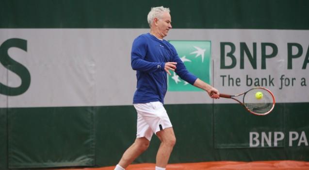 Roland-Garros - John McEnroe : 'Je dois vivre avec ça depuis 36 ans'