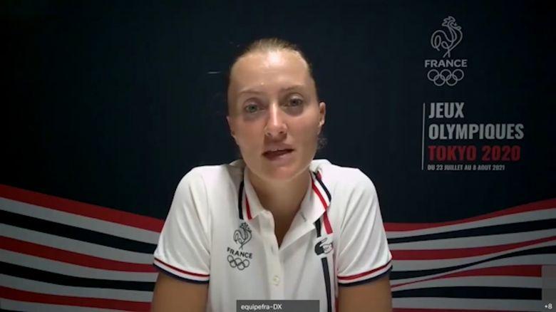 JO - Tokyo - Mladenovic : 'J'ai des objectifs très haut placés...'
