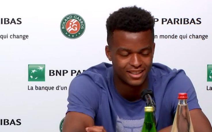 Roland-Garros - Mpetshi : 'Pas le temps de me préoccuper de la relève'