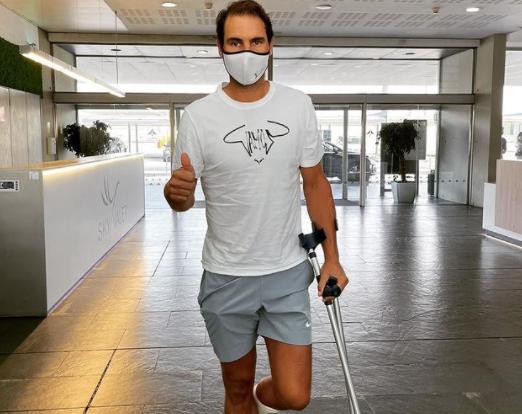 ATP  - Rafael Nadal : 'Avec le temps, les choses se compliquent mais...'