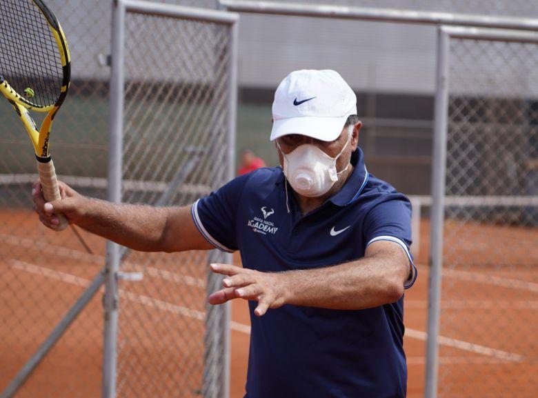 ATP - Masqué, Toni Nadal a repris les entraînements dans son académie