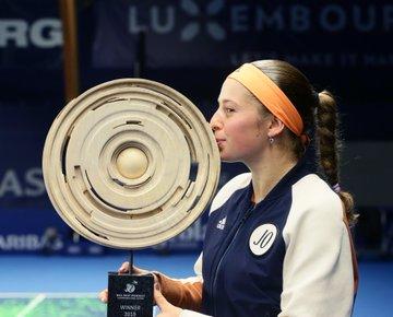 WTA - Luxembourg - Ostapenko sacrée : l'effet Marion Bartoli ?