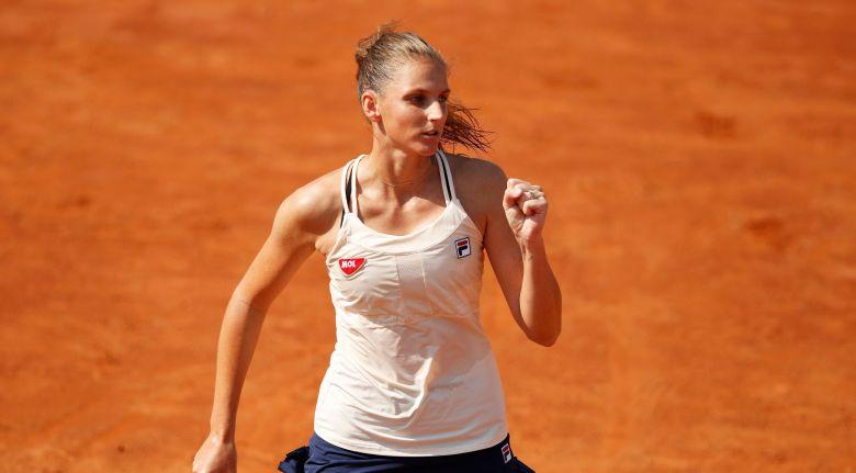 WTA - Rome - Karolina Pliskova rejoint Simona Halep en finale !