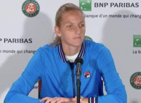 Roland-Garros - Karolina Pliskova : 'Je pense que je suis prête'