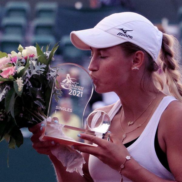 WTA - Budapest - Yulia Putintseva a privé Kalinina d'un premier titre