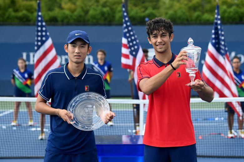 US Open (J) - Le gaucher Daniel Rincon a la tête dans les étoiles