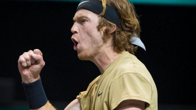 ATP - Rotterdam - Rublev s'offre un quatrième titre de suite en 500