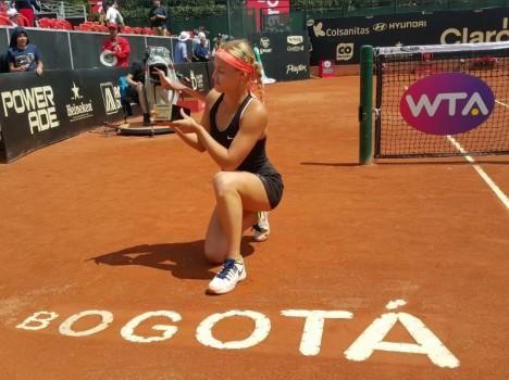WTA - Bogota - Schmiedlova, les prémices d'une renaissance