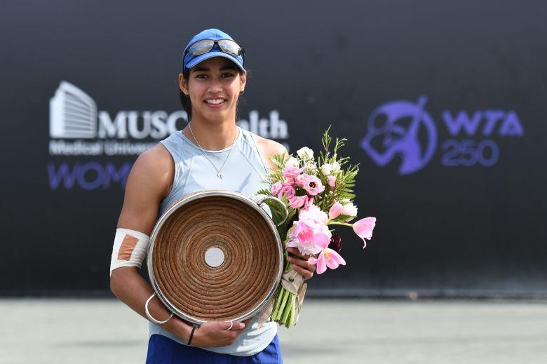 WTA - Charleston - Jabeur s'écroule, premier titre pour Sharma