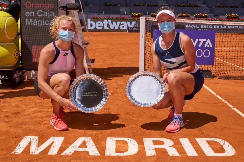 <b>WTA</b> - Madrid (D) - Les Tchèques Krejcikov/Siniakova gagnent le titre