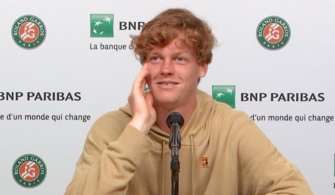 Roland-Garros - Sinner : 'Rafa jouait... moi, je faisais que courir'