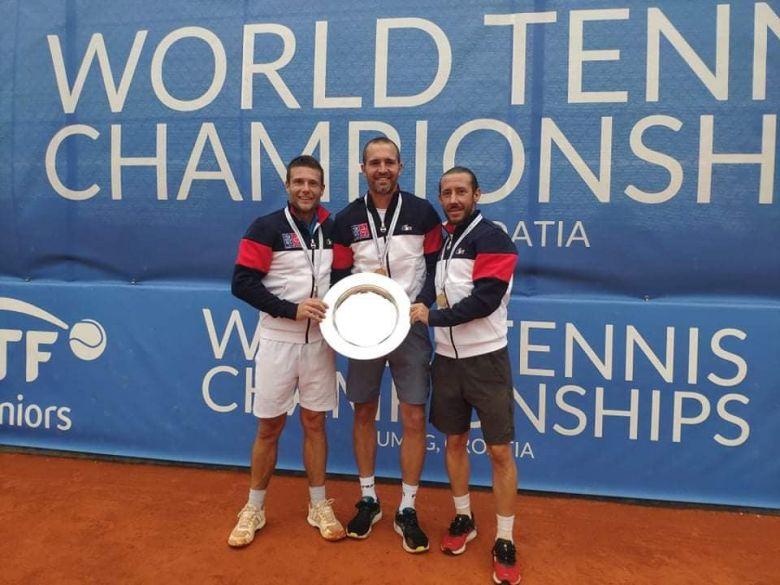 ITF - Les Français champions du monde par équipes + 35 ans