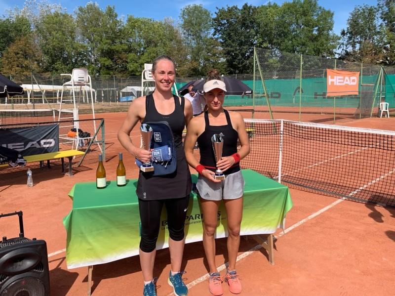 Dijon (W15) - Jade Suvrijn décroche son 1er titre depuis 2013
