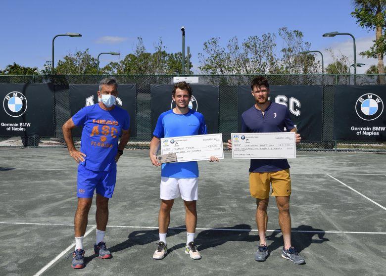 Naples (M25) - Premier titre mémorable pour Clément Tabur en Floride