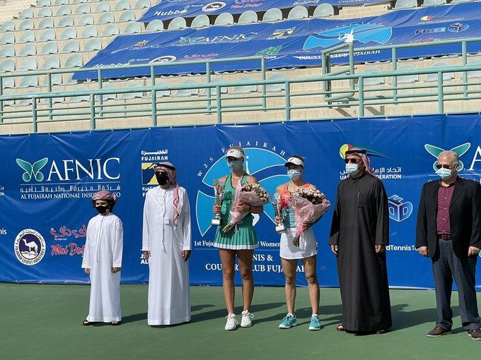 Fujairah (W25)  - La Danoise Clara Tauson lauréate aux Emirats