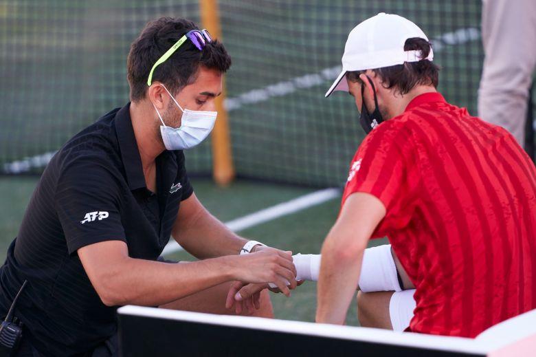 ATP - Dominic Thiem de retour sur les courts mais en gaucher