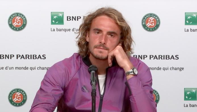 Roland-Garros - Tsitsipas : 'Djoko quitte le court et c'est un autre'