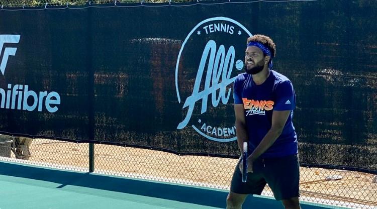 ATP - Premier entraînement pour Tsonga à la All In Academy dans le sud
